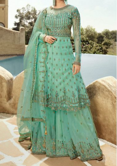 Glossy Amyra Designer Party Wear Palazzo Salwar Suit