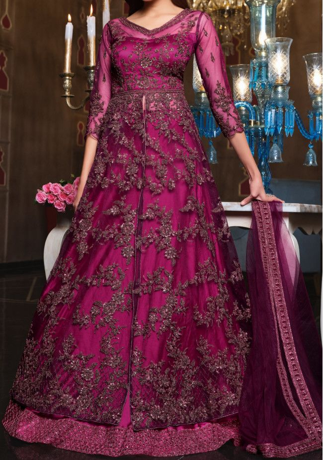 Vipul Ayaan Ziana Designer Party Wear Lehenga Suit