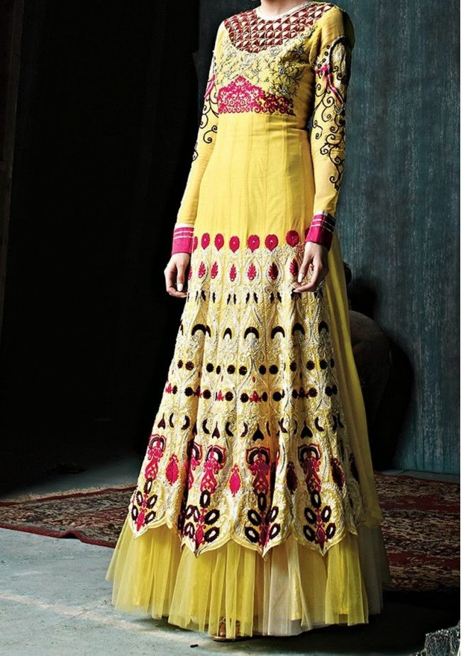 Eternal Design Gorgeous Long Style Anarkali Suit