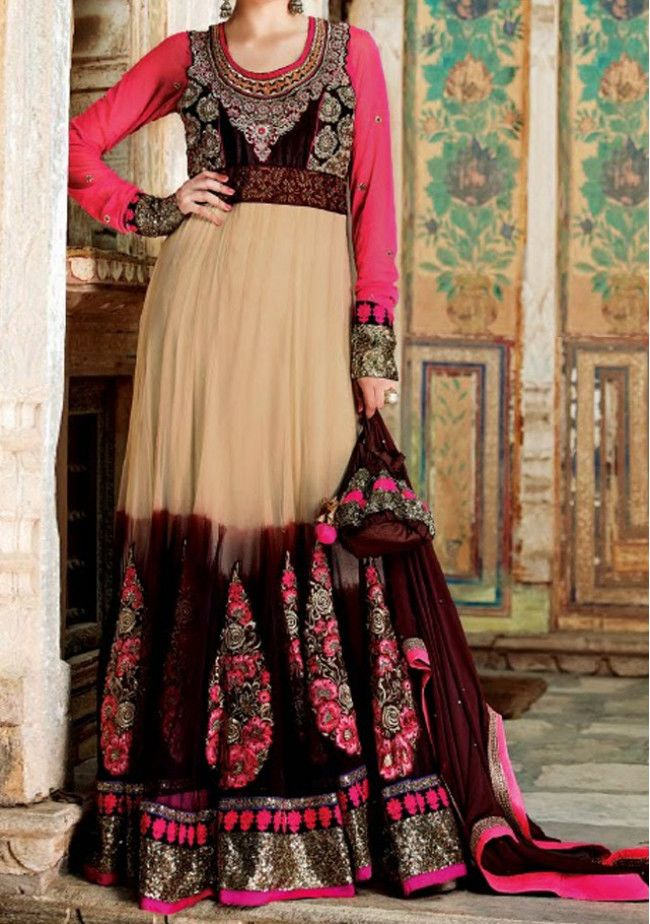 Modern Twist Premium Designer Anarkali Suit By Rama
