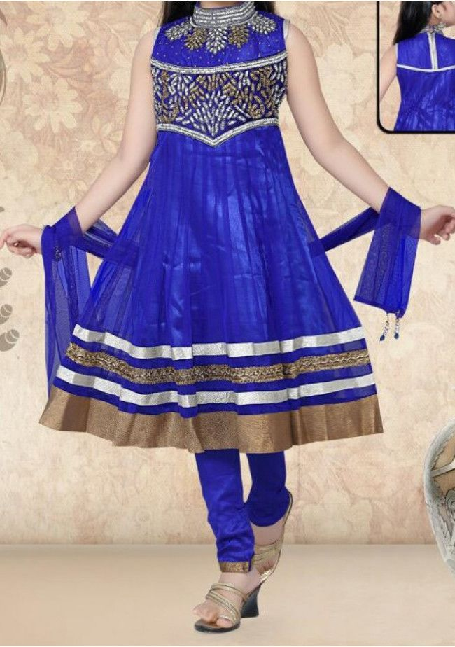 Stunning Ready Made Girls Salwar Kameez Suit