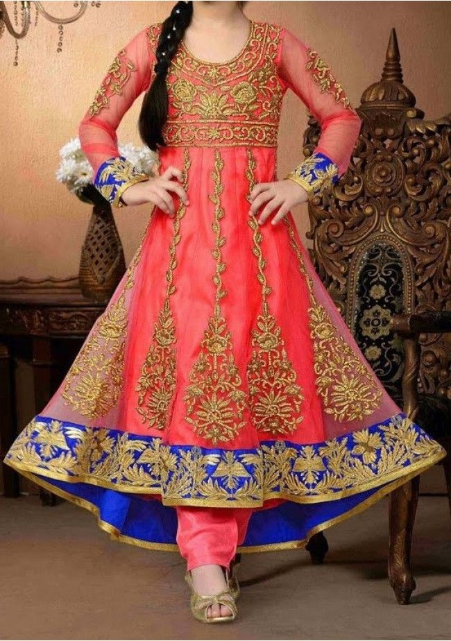 Exclusive Girl's Party Wear Anarkali Style Suit