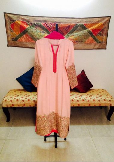 Exclusive Heavy Embroidered Boutique Salwar Suit
