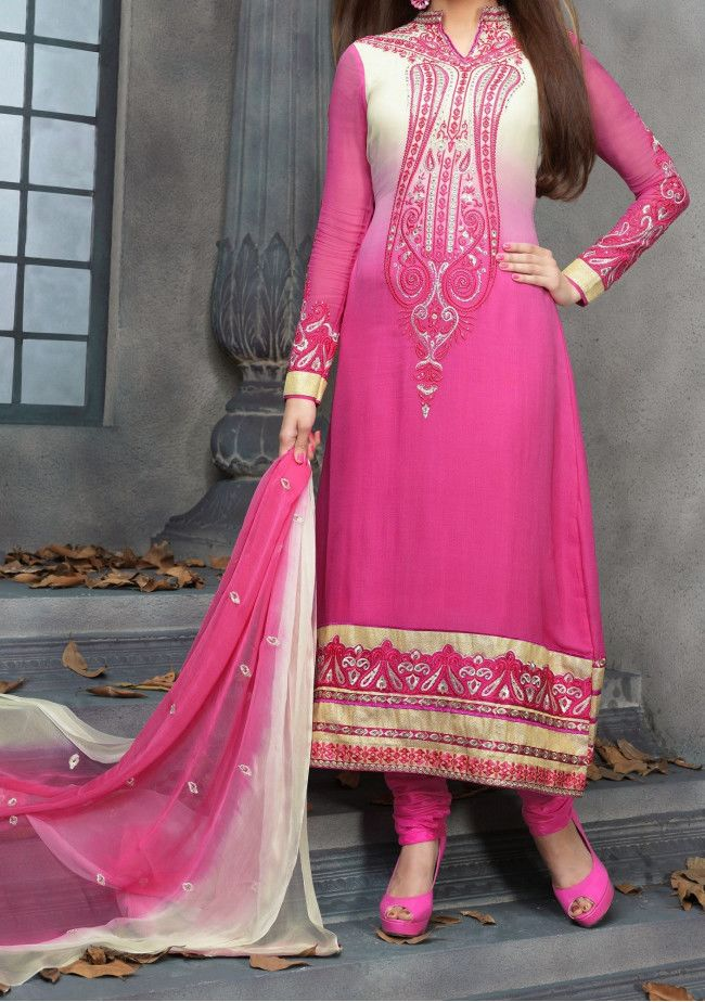 Pari Fashion By Zinat Long Style Salwar Kameez Suit