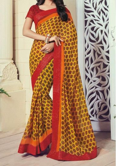 Vipul Forever Chandralekha Georgette Everyday Use Saree