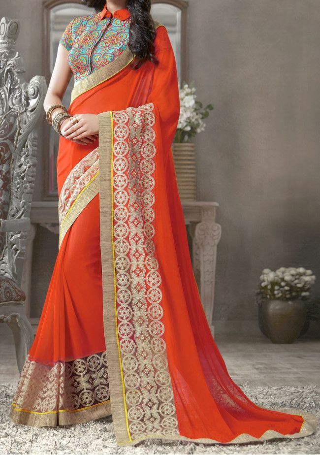 Mintorsi Georgette Hit Design Collection Saree