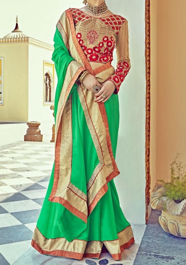 Saroj Majestic Beauty Ethnic Designer Saree