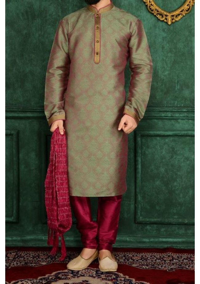 Men's Traditional  Party  Wear Kurta Pajama