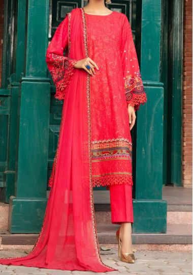 Khoobsurat Shab-E-Gul Embroidered Pakistani Dress