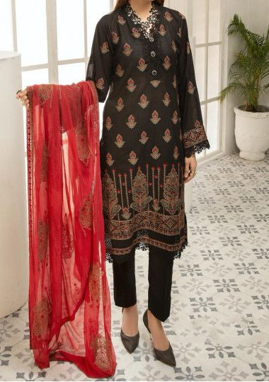 Khoobsurat Aventus Embroidered Pakistani Dress