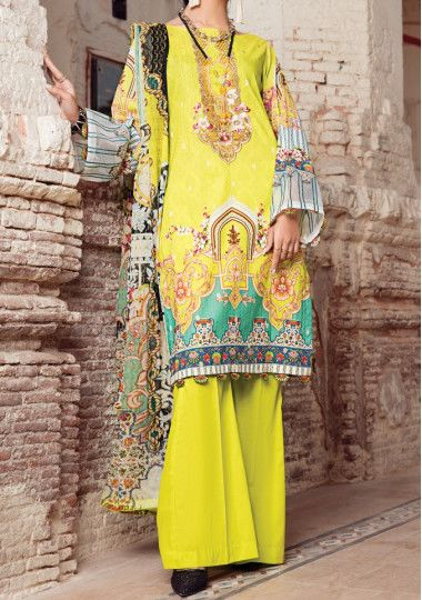 Kroma Couture Embroidered Pakistani Lawn Dress
