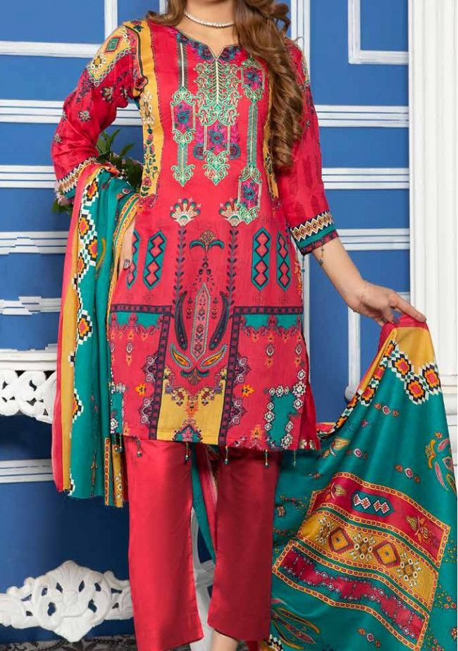 Solitaire Malhar Embroidered Pakistani Lawn Dress