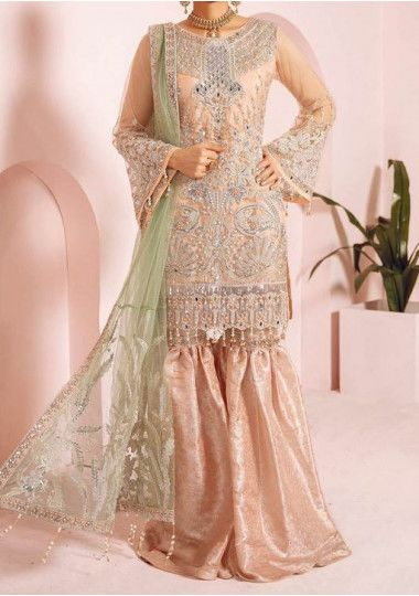 Maryum N Maria Embroidered Pakistani Master Copy Dress