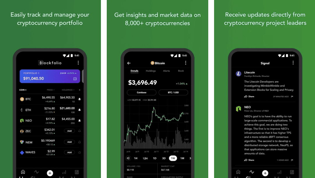 best cryptocurrency trackers alerts medium