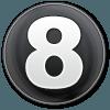 Number circle big (8)