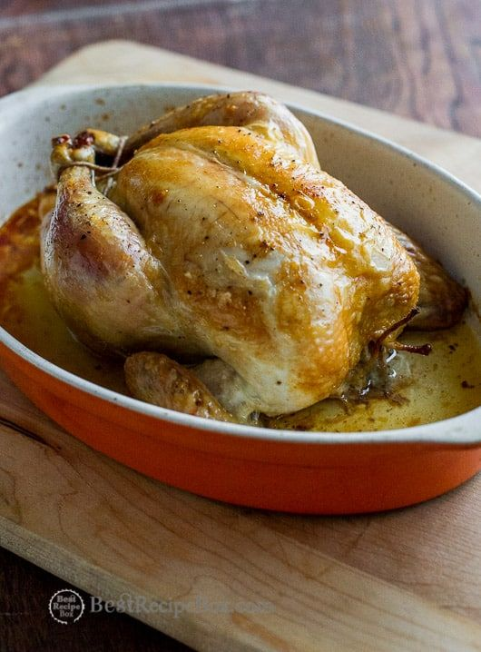 How To Oven Roast Whole Chicken Juicy Tender Best Recipe Box