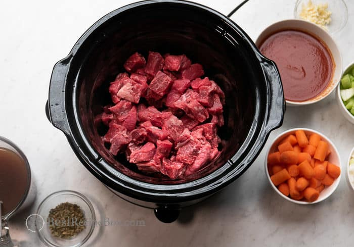 Slow Cooker Beef Stew Recipe In Crock Pot Easy Best Recipe Box