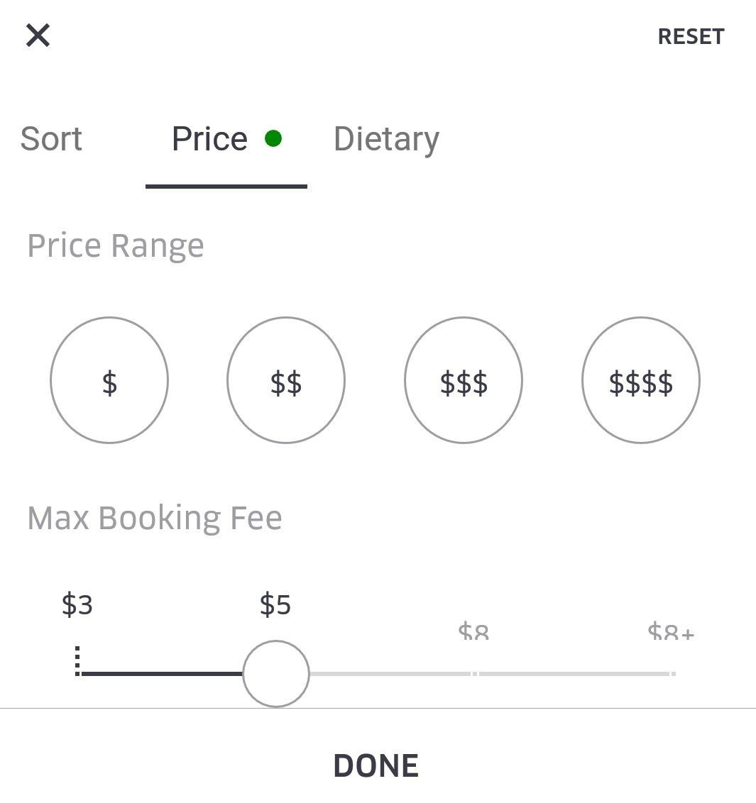 food delivery service price comparison