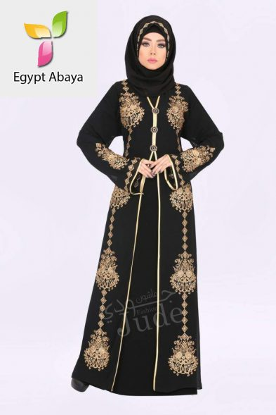 Judee Black Gold Embroidery