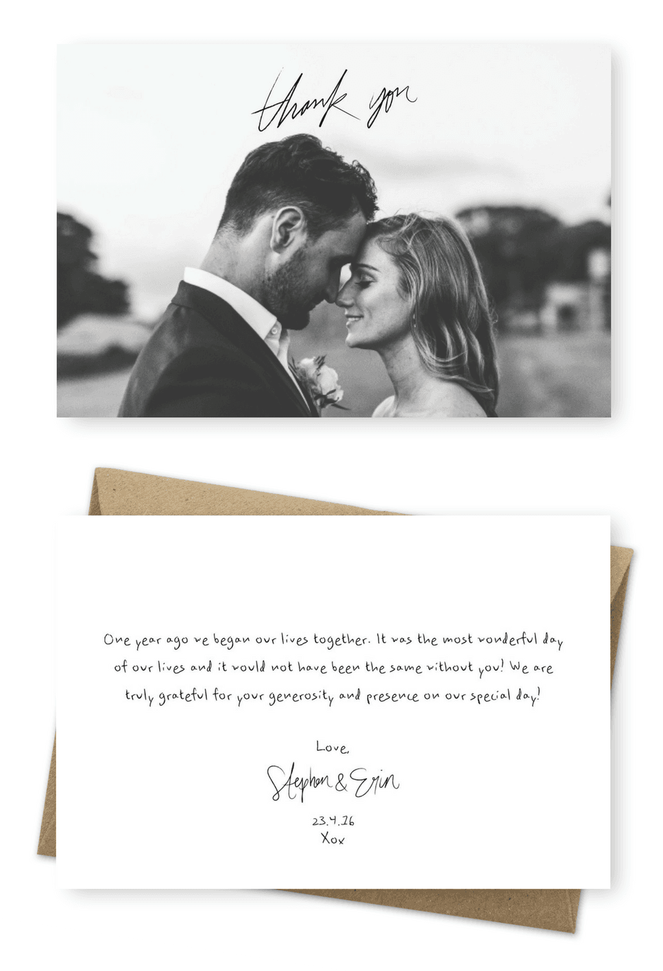 Your Wedding Thank You Cards