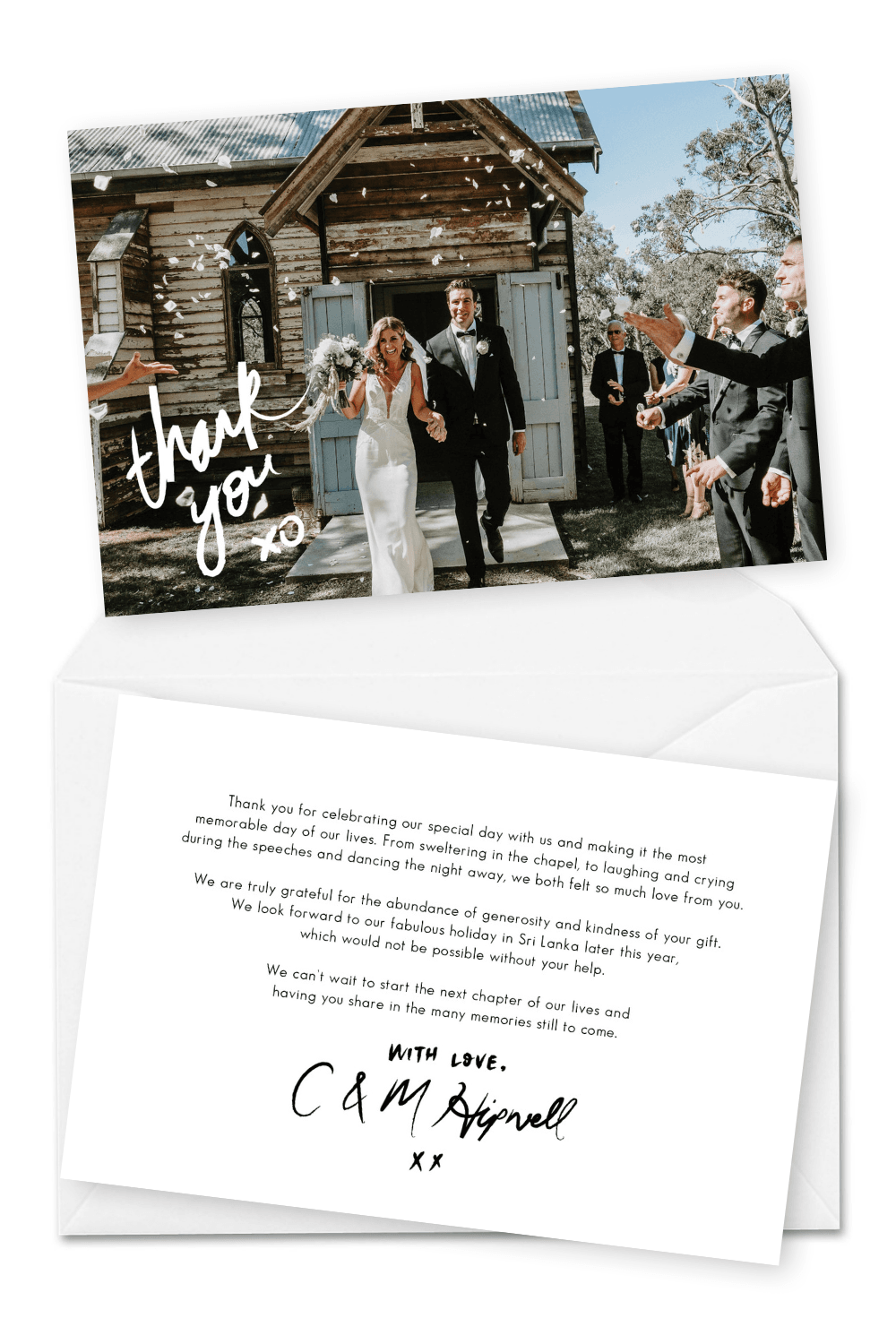 10 Wedding Thank You Cards Wording