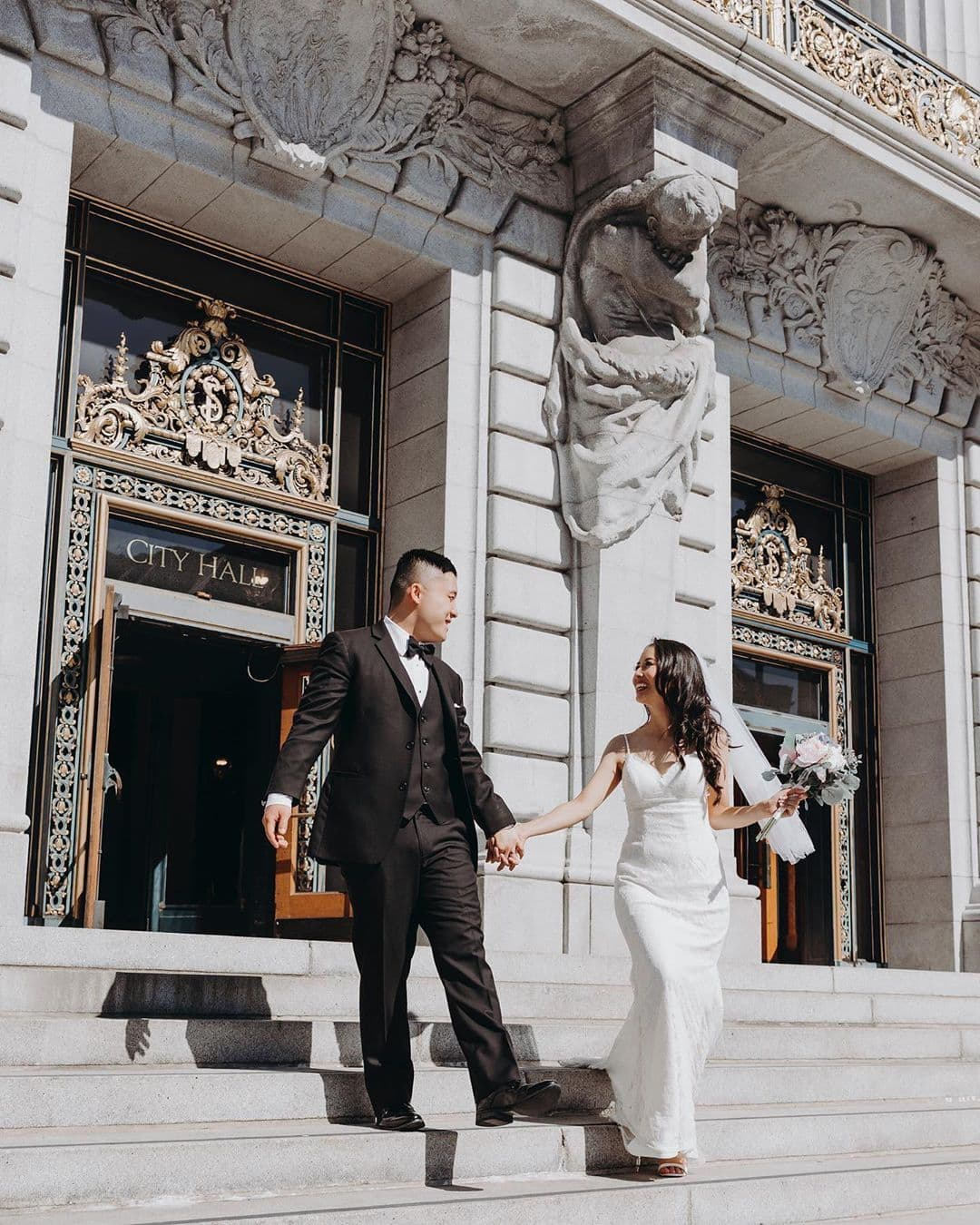 22 Prettiest City Hall Wedding Dresses And Courthouse Bridal Outfits