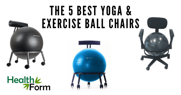 The 5 Best Yoga Exercise Ball Chairs Our 2020 Review