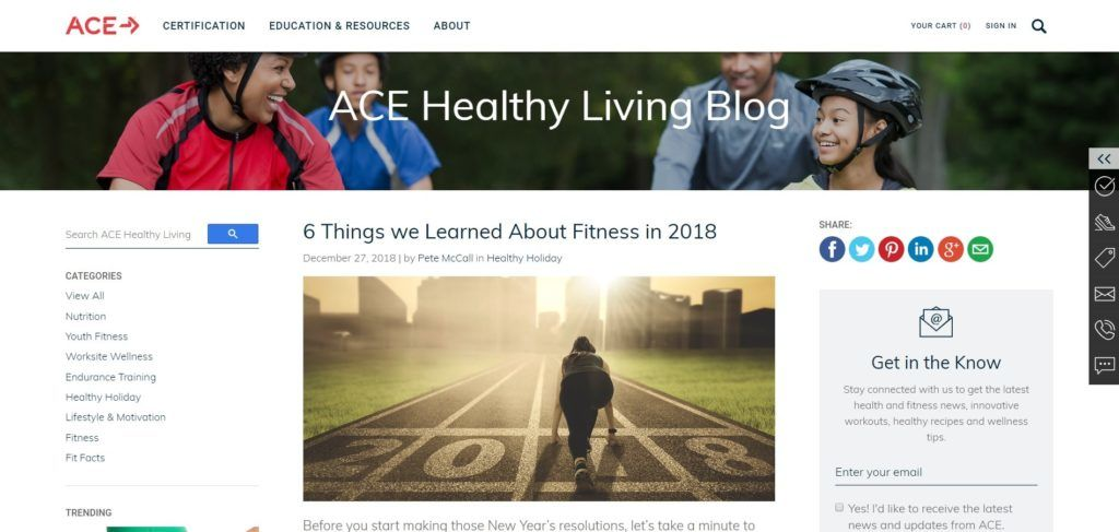 Click here to discover the best fitness blogs to follow for this year.   Find the best fitness blog here. #fitness #keepingfit #health #healthylife #healthyliving #healthier #workouts #fitnessgoals