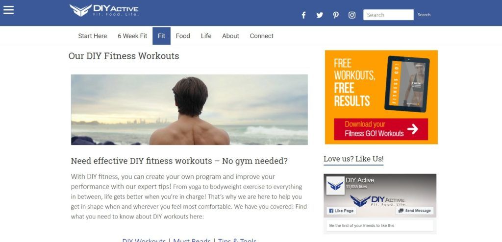 Check out the top health and fitness websites for 2019 with information from this definitive guide.   Check out the best workouts for moms. #workouts #keepingfit #fitnessgoals #health #healthylifestyle #exercise #fitness