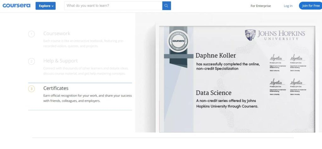 Coursera Review 2020 Are Coursera Certificates Worth It
