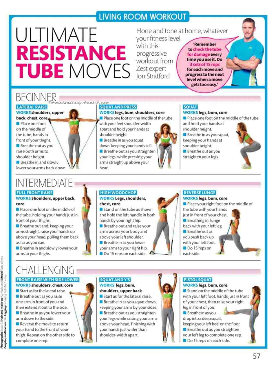 32 Resistance Band Workouts For Lower Body Arms Legs Abs And Core