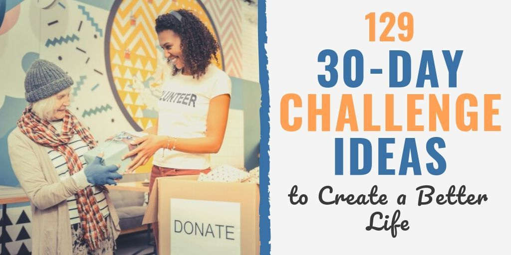 30 day challenge ideas | 30 day book challenge list | what are 30 day challenges
