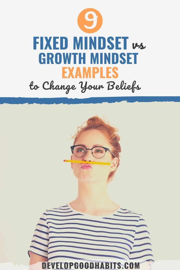 9 Fixed Mindset vs Growth Mindset Examples to Change Your Beliefs