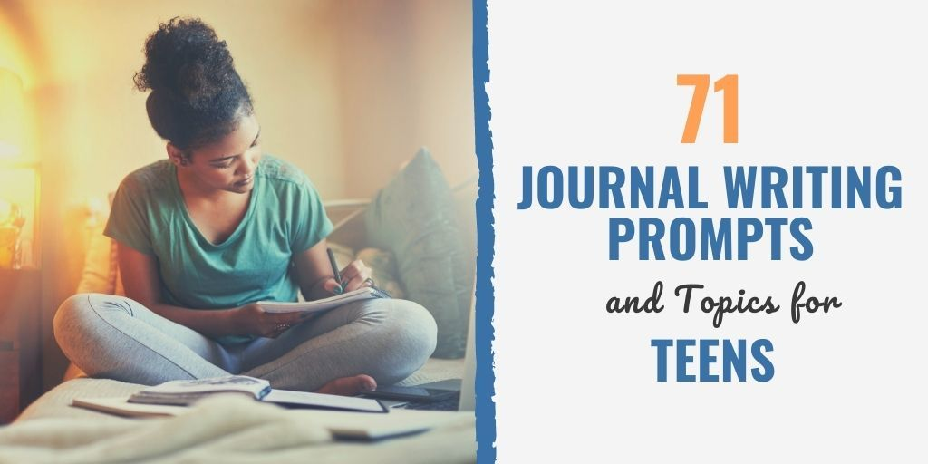 journal prompts for kids | journal prompts for high school | teenage journal