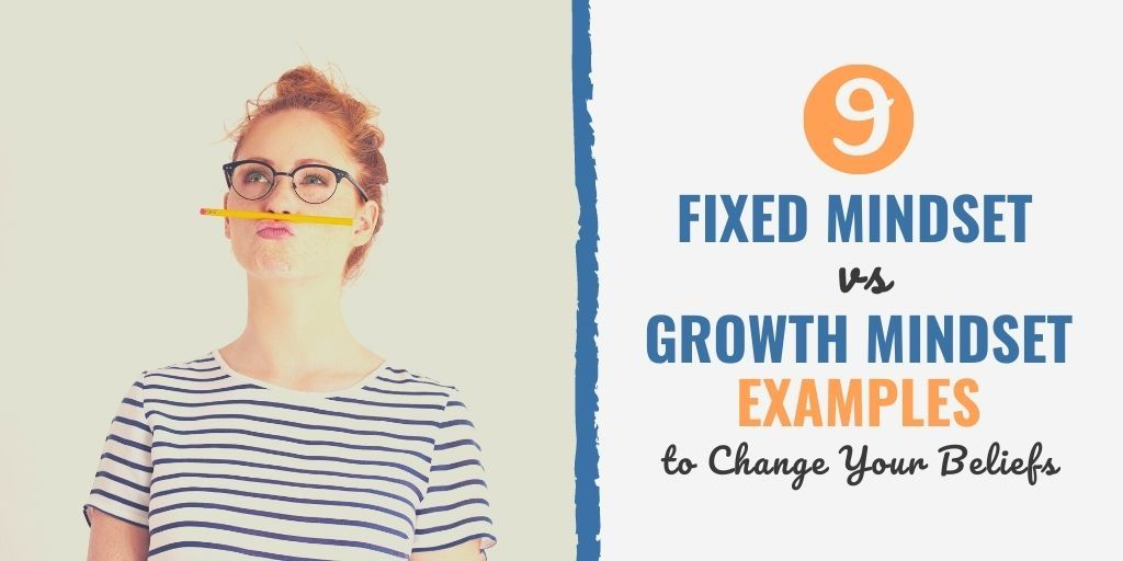 growth vs fixed mindset statements | growth mindset real life examples | fixed mindset thoughts