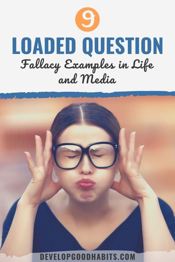loaded question examples in advertising | leading question examples | 5 example of loaded question