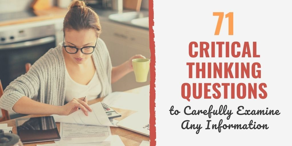 sample critical thinking questions | psychology critical thinking questions | critical thinking questions definition