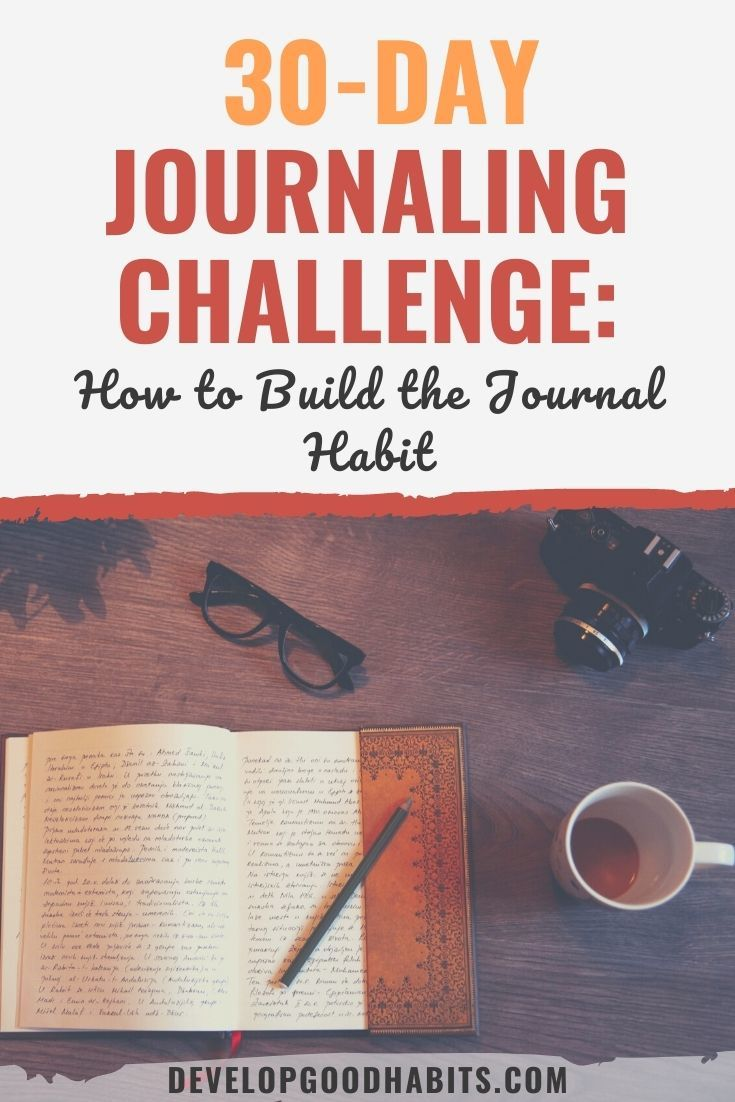 30-Day Journaling Challenge: How to Build the Journal Habit