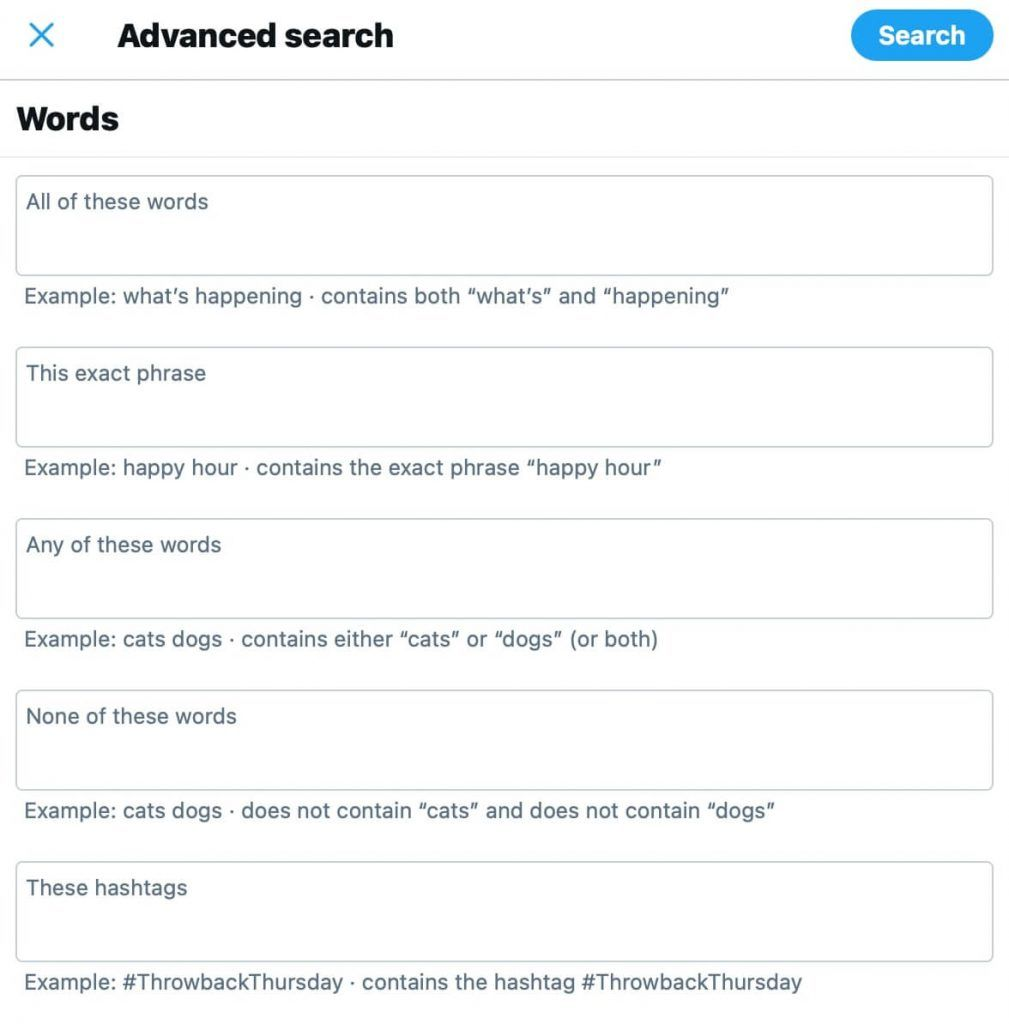 Twitter Advanced Search Complete Guide [for Marketing & Sales]