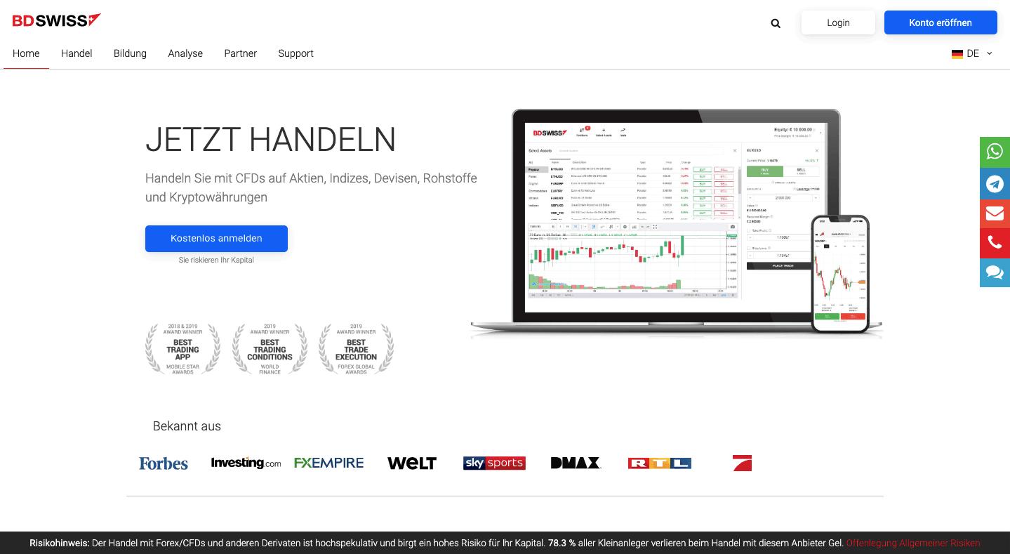 bdswiss testbericht und erfahrungen bitcoin trading application