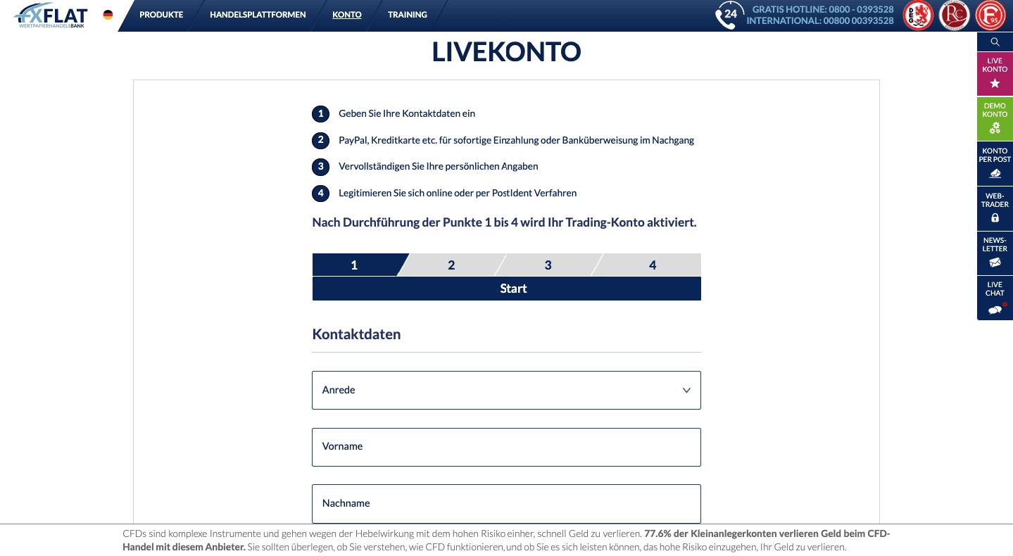 bester online broker 2021 handelsblatt fxflat demokonto