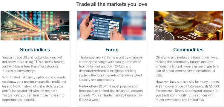 Four markets binary options review soccer am dance off 2021 betting trends