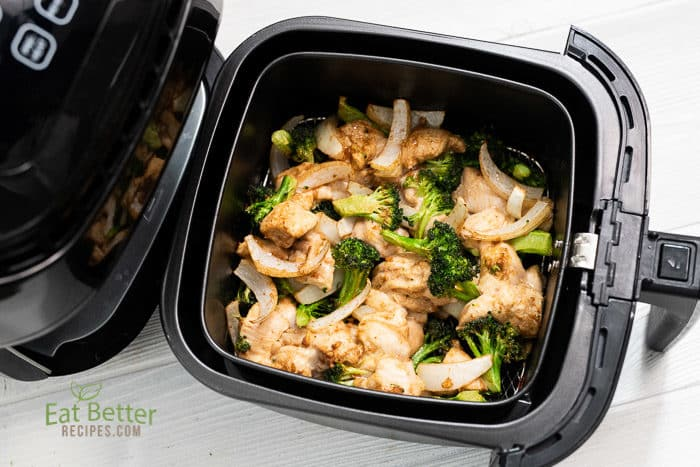 Healthy Air Fried Chicken And Broccoli In Air Fryer Eat Better Recipes